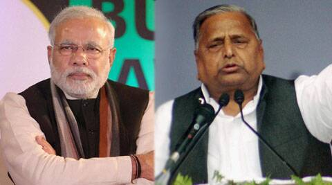 Modi claimed that Mulayam and Akhilesh were following him wherever he went for rallies.