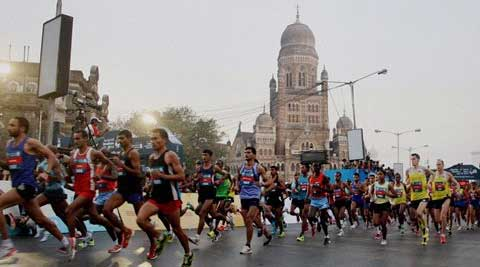 Pre-race favourite Dinknesh Mekash clinched the women's crown in Mumbai Marathon.