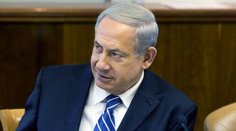"Netanyahu threatened to teach Gaza's ruling Hamas movement a lesson ""very soon""."