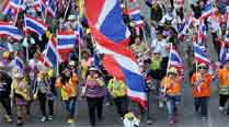 Protesters mobilise ahead of planned Thai capital 'shutdown'
