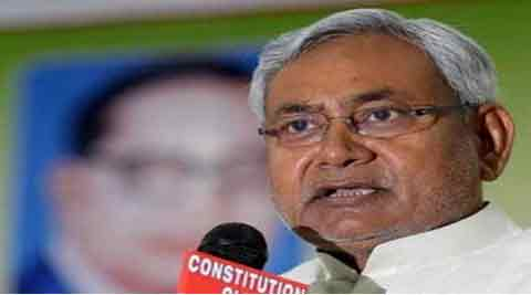 "Nitish Kumar told reporters outside Assembly: ""I have nothing against Seemandhra getting special status. But why is Bihar's similar demand is not considered despite Raghuram Rajan Committee report putting Bihar in least developed category states"". PTI"