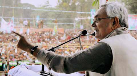 Nitish criticised BJP for attacking his ministerial colleague Shahid Ali Khan for alleged links with IM and ISI because he is Muslim. PTI
