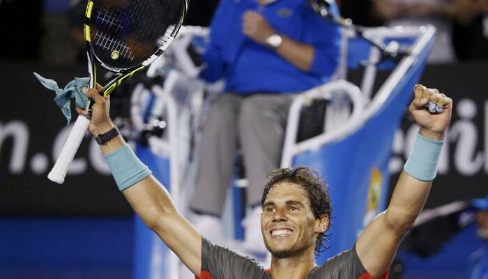 A relentless Rafael Nadal shrugged off an injury scare before turning on a masterclass under the lights of Rod Laver Arena to destroy flamboyant Frenchman Gael Monfils 6-1 6-2 6-3 and storm into the Australian Open fourth round on Saturday.REUTERS