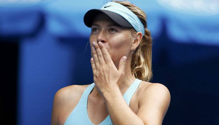 Maria Sharapova continued her erratic Australian Open campaign with a scratchy 6-1 7-6 (8-6) win over Alize Cornet that put her into the last 16 on Saturday but also sent her straight to the practice court in search of some sorely needed form. REUTERS