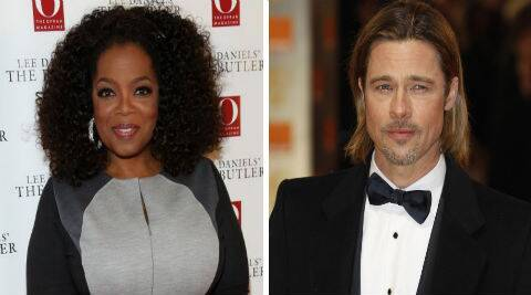 Oprah Winfrey will produce with Brad Pitt through his Plan B Productions company. (Reuters)