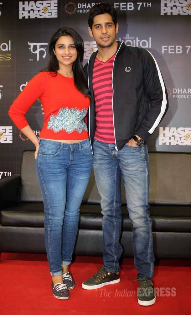 Parineeti, Sidharth get busy with 'Hasee Toh Phasee'