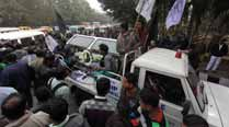 Trinamool protests with student'sbody