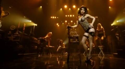 Priyanka Chopra begins her performance straddling a chair and is sure to set pulses racing with her seductive moves.
