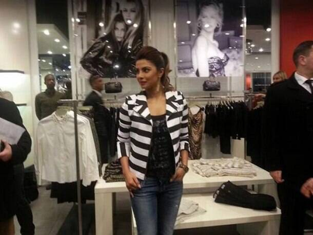 Priyanka Chopra releases new single at Guess, London
