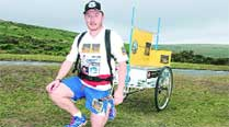 British runner on world record mission makes pit stop inPune