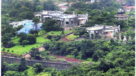 The plot houses seven bungalows overlooking INS Shivaji, a Naval training establishment in Lonavala. Arul Horizon