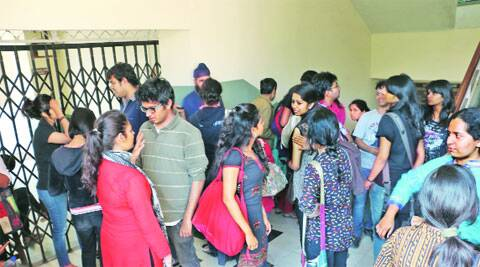 Several students had alleged discrepancies in their results
