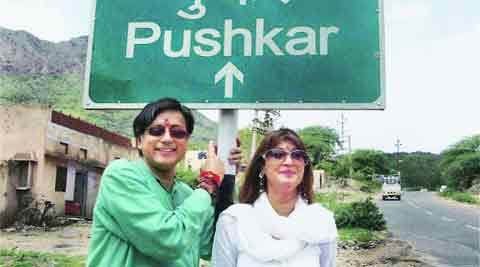 Sunanda married Shashi Tharoor in Kerala in August 2010. PTI File