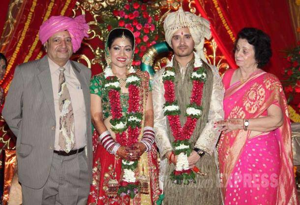 Big B, Kajol, Ajay other B-town biggies at Raghav Sachar-Amita Pathak's wedding