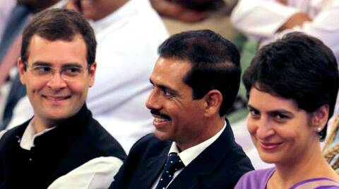 The Indian Express has learnt through an RTI application that in 2012, Rahul gifted this land to Priyanka.