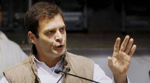 Hitting out at the BJP, Rahul said that those who ever attacked the thought of Congress were themselves wiped out.
