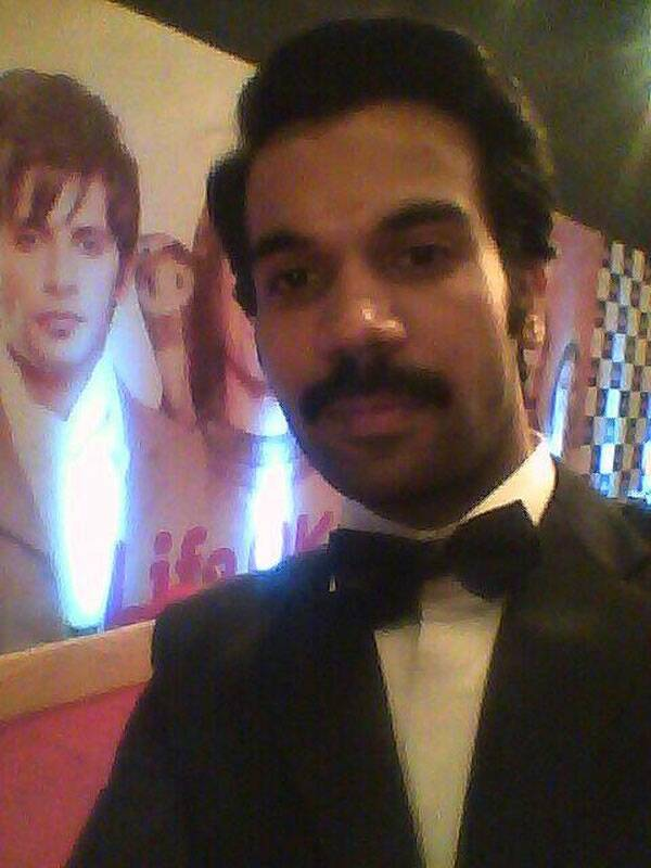 And our selfie project wouldn't be complete without Shahid actor Rajkumar Yadav's selfie.