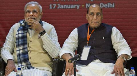 Senior leaders are fielded as per strategy, said Rajnath Singh. (AP)