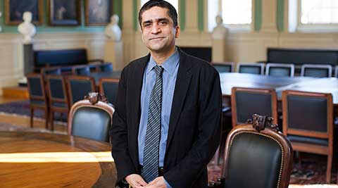 Khurana, 46, is currently the 'Marvin Bower' Professor of Leadership Development at Harvard Business School. (Photo Courtesy: news.harvard.edu)