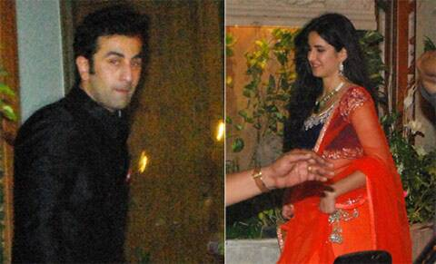 Ranbir Kapoor was also seen with Katrina Kaif at Amitabh Bachchan's Diwali bash last year. (Photo: Varinder Chawla)