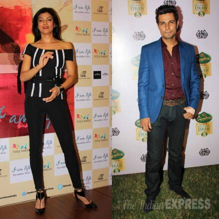 Ex-lovers Sushmita Sen, Randeep Hooda have a busy Thursday