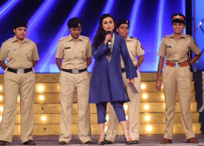 Rani Mukerji, who will be playing the role of a police officer in 'Mardani', was also present at the show. (Photo: Varinder Chawla)