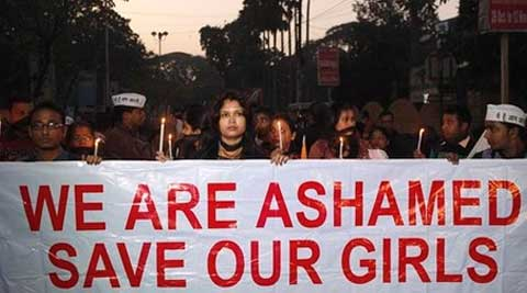 The tribal woman, raped by 13 persons in Birbhum is in very critical condition. (PTI Photo)