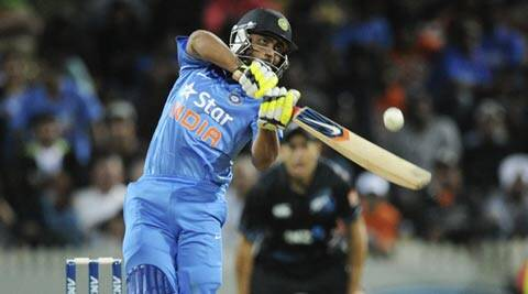 Ravindra Jadeja's bowling prowess too came to the fore in the fourth ODI when he tied hoops around the in-form pairing of Ross Taylor and Kane Williamson (AP)