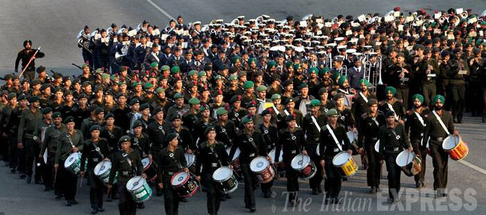 Republic Day rehearsals in full swing
