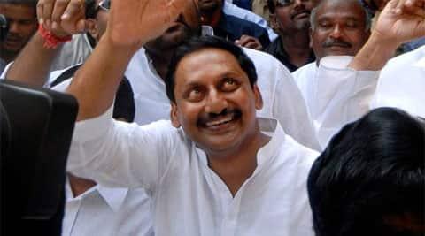 Andhra Pradesh Chief Minister N Kiran Kumar Reddy. (Reuters)