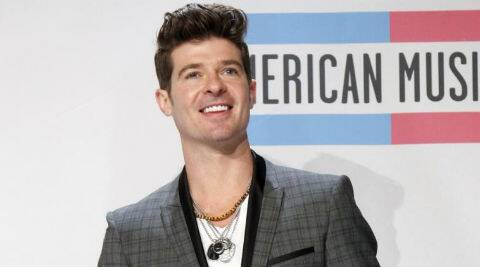 Last year, Robin Thicke joined other celebrities in teaming up with Tickets for Charity. (Reuters)
