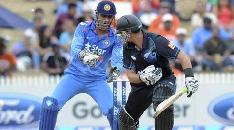 Ross Taylor said the Black Caps are now looking to play the Indian spinners off the back foot, and into the gaps (AP)