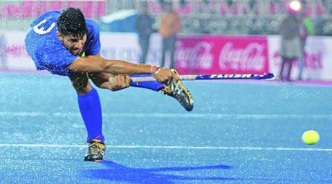 Rupinder, who will play with Delhi Waveriders, has developed into one of India's best drag-flickers (IE Photo)