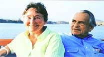 57 yrs and discovering India: Padma Bhushan Mr & Mrs Rudolph