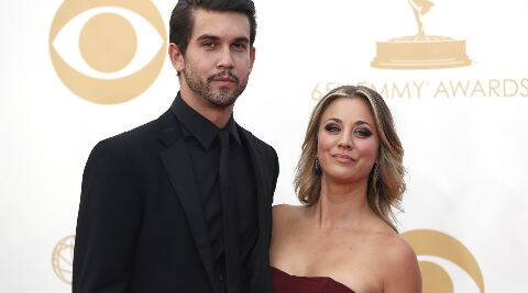 Ryan Sweeting and Kaley Cuoco tied the knot on New Year's Eve in a fire-and-ice-themed ceremony. (Reuters)