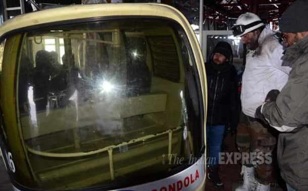 Saif Ali Khan shoots for 'Phantom' in Kashmir valley