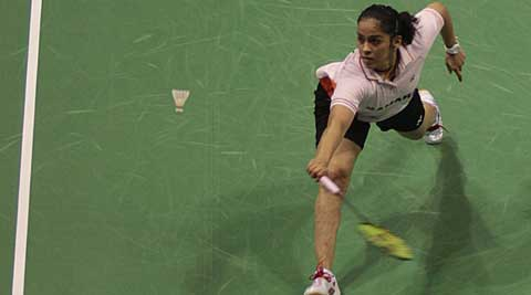 Saina will face second seed PV Sindhu in the summit clash (File)