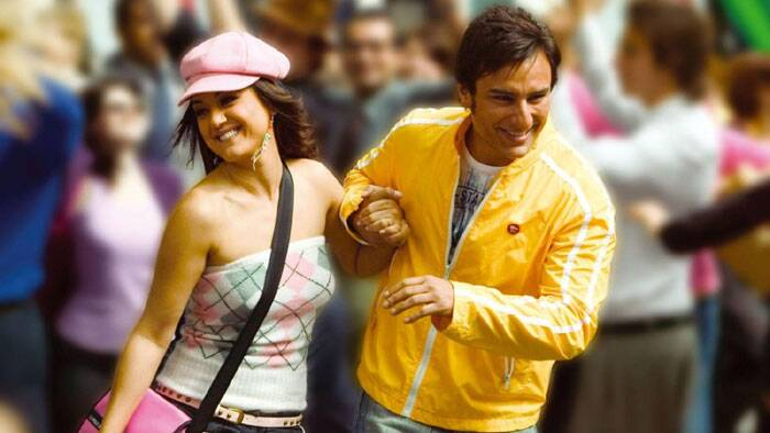 Later in 2005, Preity Zinta was noted for her portrayal of an independent, modern Indian woman in 'Salaam Namaste'. After having played a teen mum and a surrogate mother, she went on to play an Amber Malhotra, living in with her boyfriend played by Saif Ali Khan. This was one of the first Bollywood films to showcase such a subject. Preity was nominated for several awards for her role in 'Salaam Namaste.'
