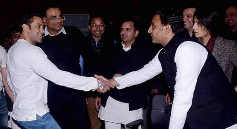 Akhilesh Yadav claimed that no media organisation reported when Salman Khan visited children in hospitals.