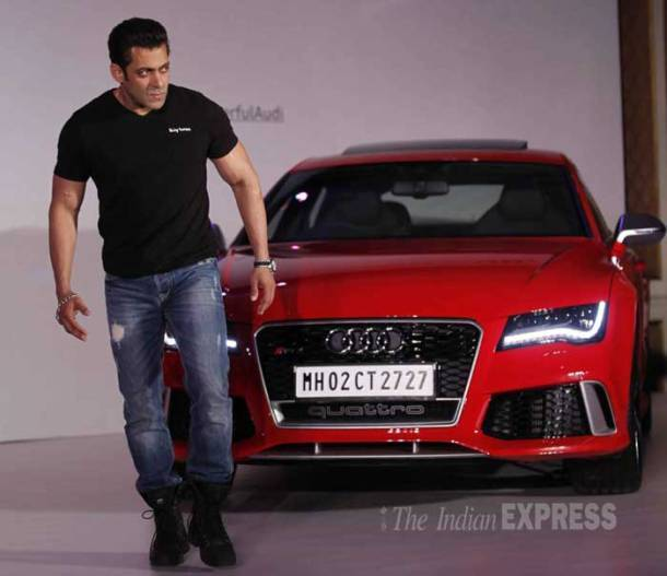 Salman Khan launches Audi RS 7 Sportback