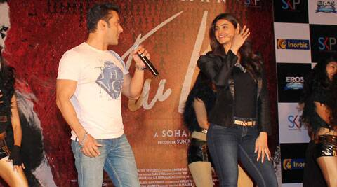 "In case of Daisy Shah, she is a dancer, a good actor and she looks good on screen. She deserves to be in the industry,"" Salman Khan said. (Photo: Varinder Chawla)"