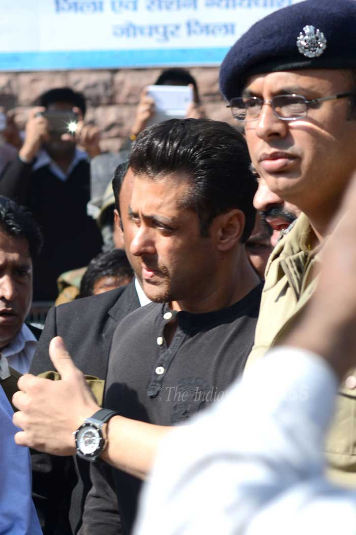 Salman Khan in Jodhpur for Chinkara poaching case