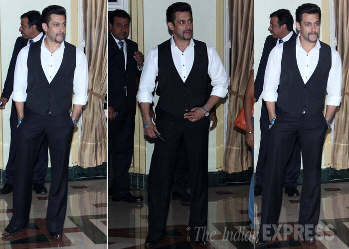 Salman Khan is sure to send girls in a tizzy with his stylish look. (Photo: Varinder Chawla)