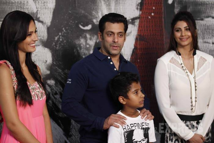 Salman Khan and film's lead actress Daisy Shah have left no stone unturned in promoting their film - the two have been seen on every Television show and also premiered their movie in Dubai. (IE Photo: Prakash Yeram)