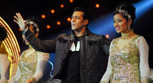 Bollywood stars Salman Khan, Alia Bhatt, Varun Dhawan, Zarine Khan, Mallika Sherawat, among others, performed at the event.
