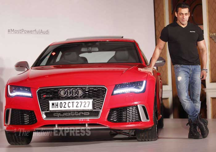 new car launches in january 2014PHOTOS Salman Khan launches Audi RS 7 Sportback  The Indian Express