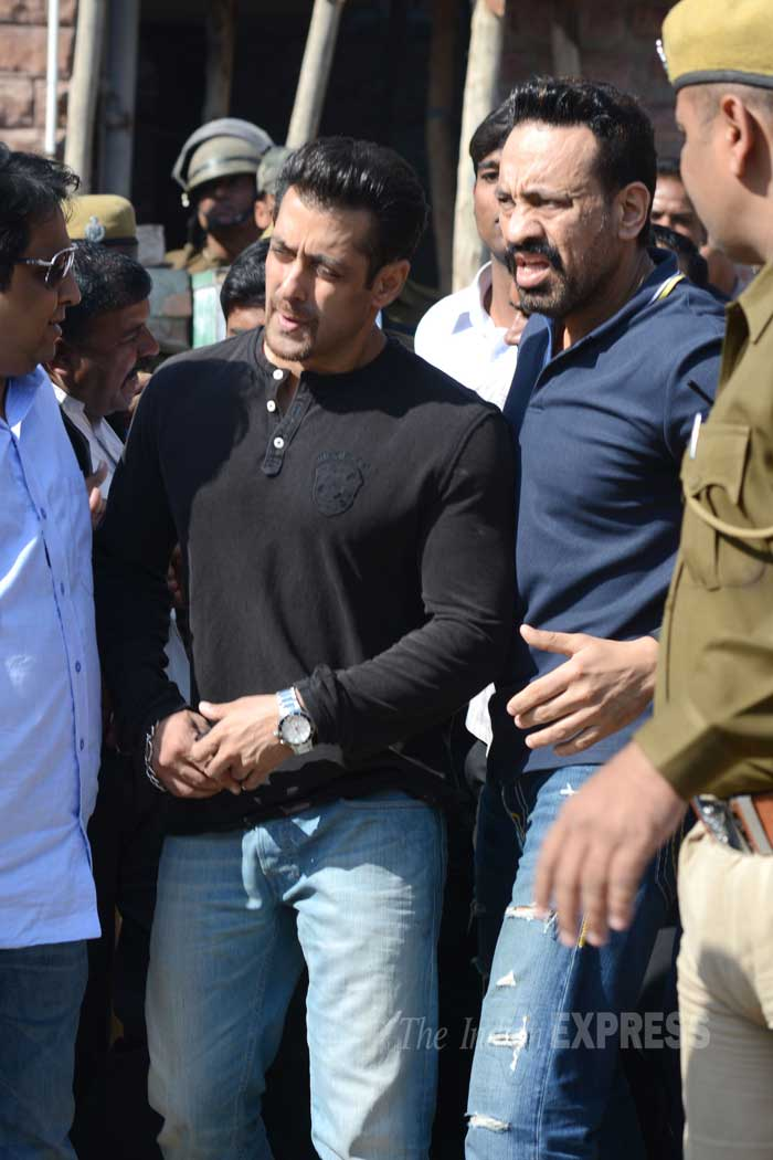 In the fresh charges, Salman was charged with Section 9/51 of the Wildlife Protection Act and others including a local accused Dushyant Singh with sections 9/51, 9//52 of the same Act and section 149 of IPC. (Image courtesy: Mohammed Sharif)