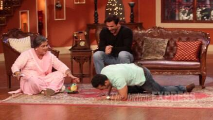 Salman Khan rolls on the floor with laughter