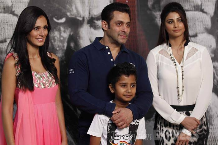 "Salman Khan spoke about the action stunts in his films, ""I have been going through huge problems trying to do all that (action). At 48, to move from 'Ek Tha Tiger' to 'Dabangg' to all these films, the action is on a different level. There is lot of physical action and I am still doing it despite not being allowed to."" (IE Photo: Prakash Yeram)"