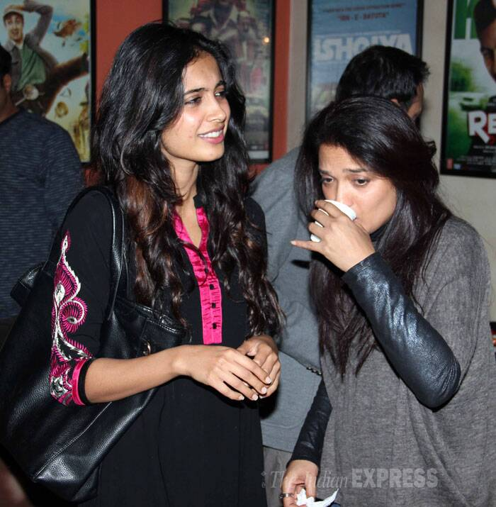 Sandhya seems to be in need of tea! (Photo: Varinder Chawla)